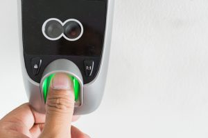 Door Lock Fingerprint Scanner Biometrics