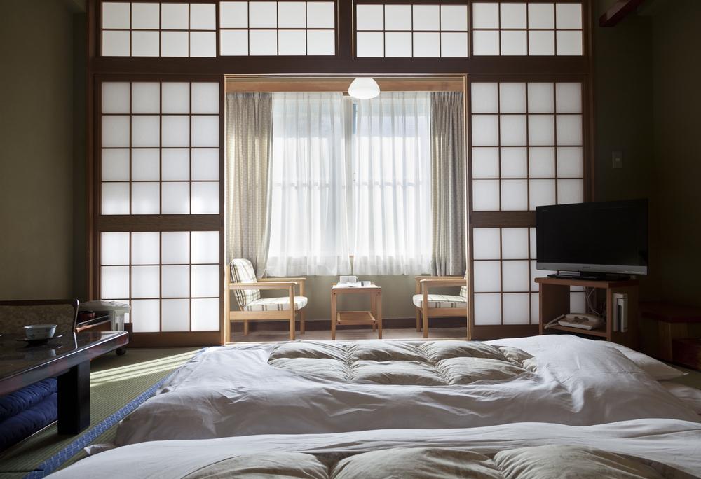 Traditional Japanese Ryokan Inn Room