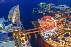 Yokohama Port Area Night