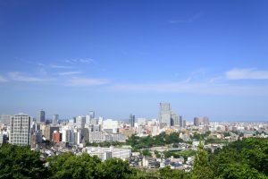 Japan City Skyline