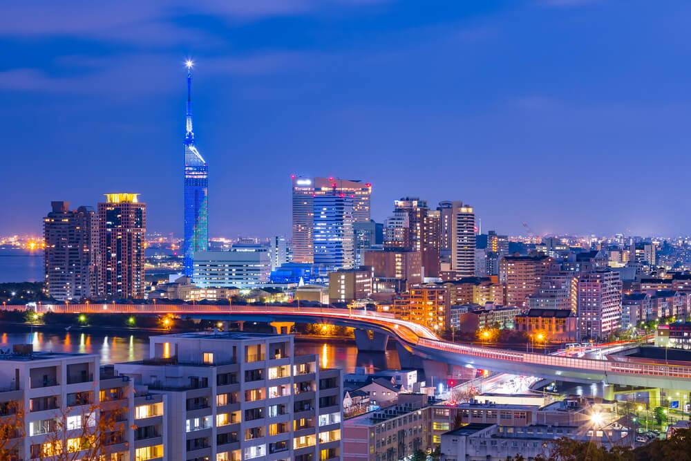 近鉄不動産、博多駅前に商業施設一体型ホテル。2019ラグビーW杯前に建設ラッシュ