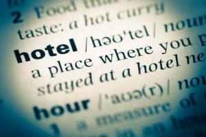ホテル用語集