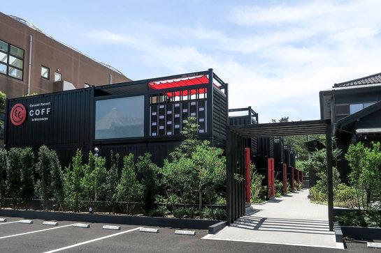 国内初、千葉にコンテナ型ホテル投資事業モデル1号店開発