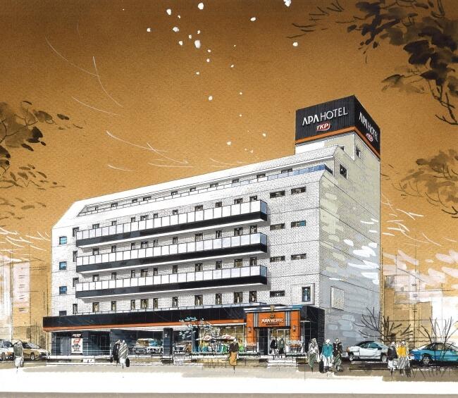 ティーケーピーとのフランチャイズ契約締結、アパホテルTKP東京西葛西、2017年11月開業予定