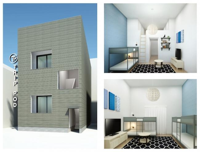 投資用民泊アパート、福岡で販売開始。旅館業法活用で365日運用可能