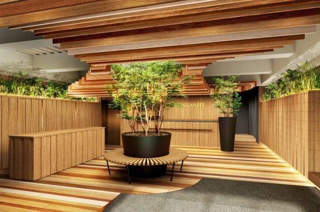 """バグース新規事業、""""グランピング""""を思わせるカプセルホテル、2017年10月オープン"""