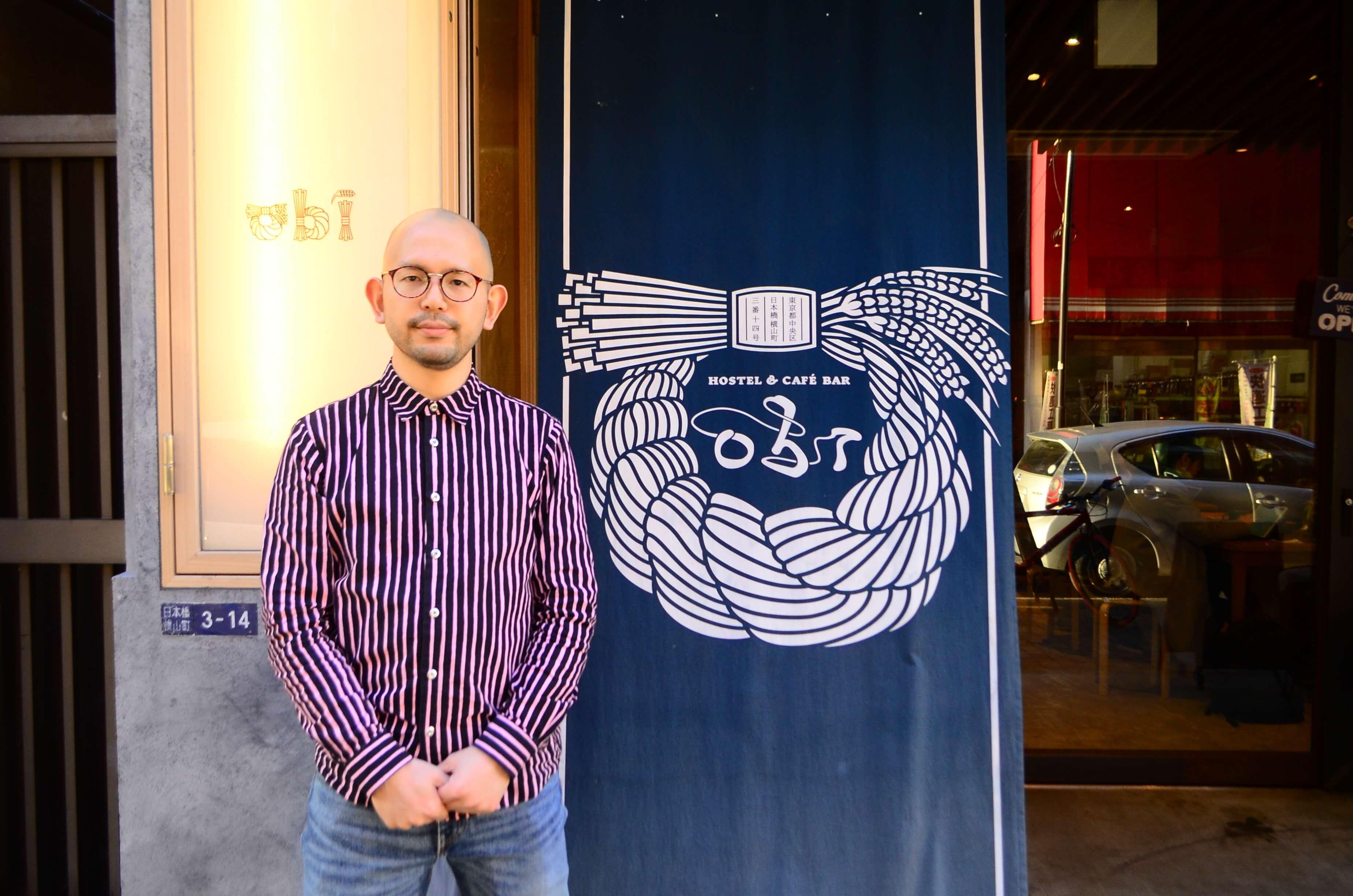 「obi Hostel」を運営する谷口 涼氏 vol.1「立ち上げ時のおはなし」