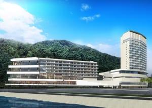 熱海後楽園ホテルを中心とする複合型リゾートエリア「ATAMI BAY RESORT KORAKUEN」が2019年3月下旬に開業