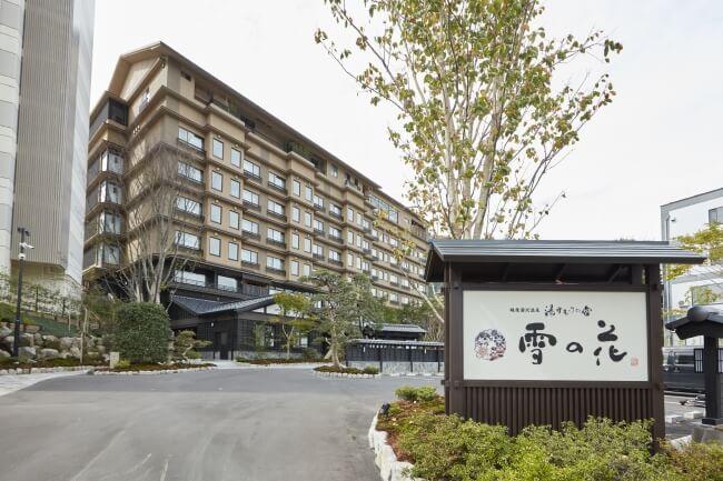 「越後湯沢温泉 湯けむりの宿 雪の花」が2019年4月27日開業、国内外に展開するスパが併設