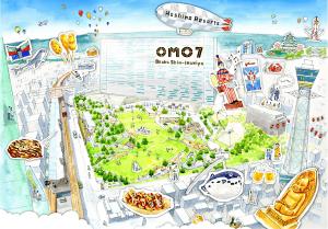 星野リゾート、2022年4月開業予定の施設名を「OMO7(おもせぶん) 大阪新今宮」に決定