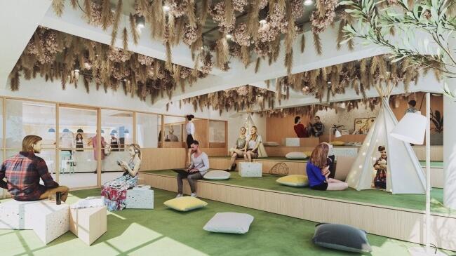 お茶・映画・旅が一つの空間に集約した泊まれるシアター「Theater Zzz(シアターズィー)」が2019年夏に開業