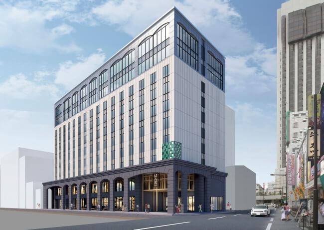 2020年春「浅草ビューホテル アネックス 六区」開業、外国人観光客の需要を見込み和室・和洋室を用意