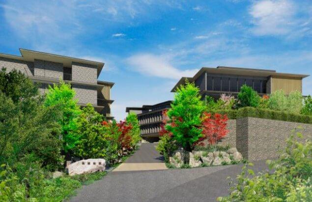 オリックス不動産『ORIX HOTELS & RESORTS』ブランドの温泉旅館を箱根に2020年秋開業