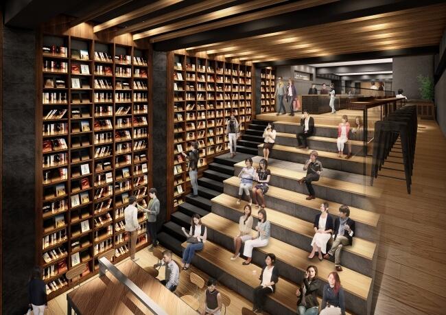 人気の本屋「B&B」とコラボしたホテル「TUNE STAY KYOTO」が京都市下京区に2019年11月開業