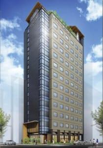 最上階にロビーと日本庭園を備えた「ホテル八重の翠東京」八重洲・八丁堀エリアに2020年4月開業