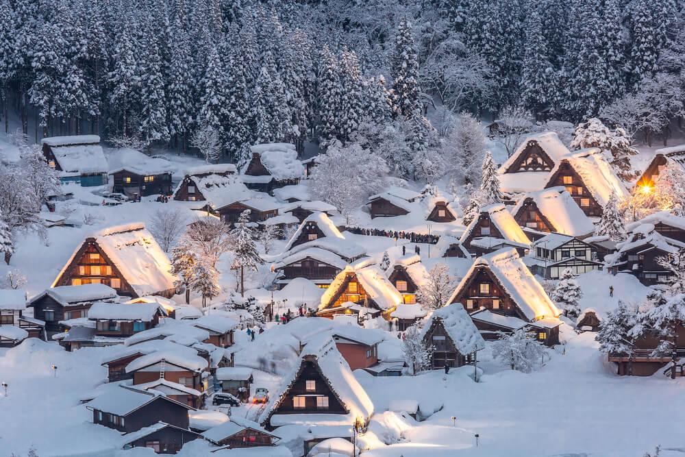 2019年12月の訪日トレンド、キーワードは「雪」白川郷は6カ国で検索数1位に 北海道も人気