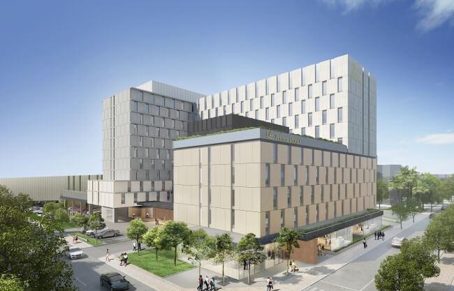 最大受入人数2,324名の「東京ベイ潮見プリンスホテル」2020年7月開業、東京ベイエリアの発展に期待