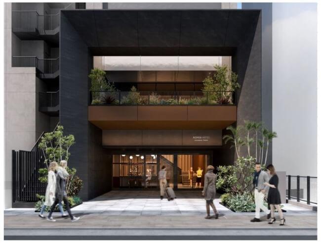 「NOHGA HOTEL AKIHABARA TOKYO」2020年7月開業、コミュニティ創出型のホテルを目指す