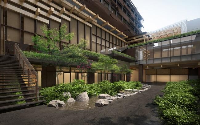 アジア初進出の「エースホテル」京都市中京区の複合施設「新風館」内に2020年4月開業
