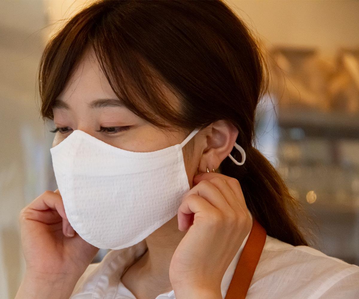 変わらず毎日働く人のために ユニフォームメーカーが真剣に考えたマスク「ユニフォーム・マスク」 8月5日から数量限定で発売開始