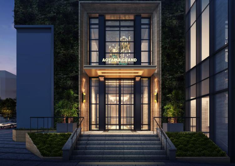 青山ベルコモンズ跡地に「THE AOYAMA GRAND HOTEL」8月5日開業
