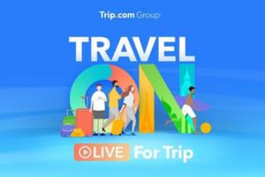 Trip.comグループ「LIVE for Trip(ライブ・フォー・トリップ)」で旅行業界の回復促進を図る