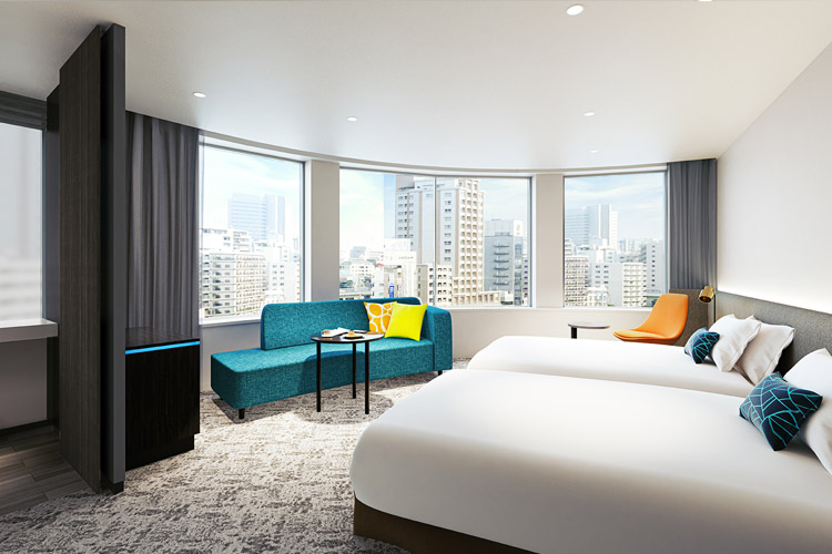 【ホテルインターゲート大阪 梅田】それは「最高の朝」をお届けするホテル 2021年4月1日開業