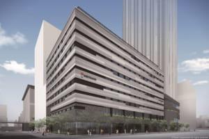 """【ホテル京阪 なんば グランデ(仮称)】デザインコンセプトは、""""緑の丘にたたずむ Garden"""" 2023年春開業予定"""