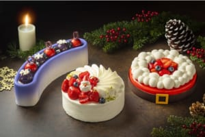 ヒルトン名古屋  クリスマスを華やかに彩る、クリスマスケーキの予約受付を11月6日(土)から開始 クリスマスカラーやアイテムをモチーフにした季節限定スイーツも登場